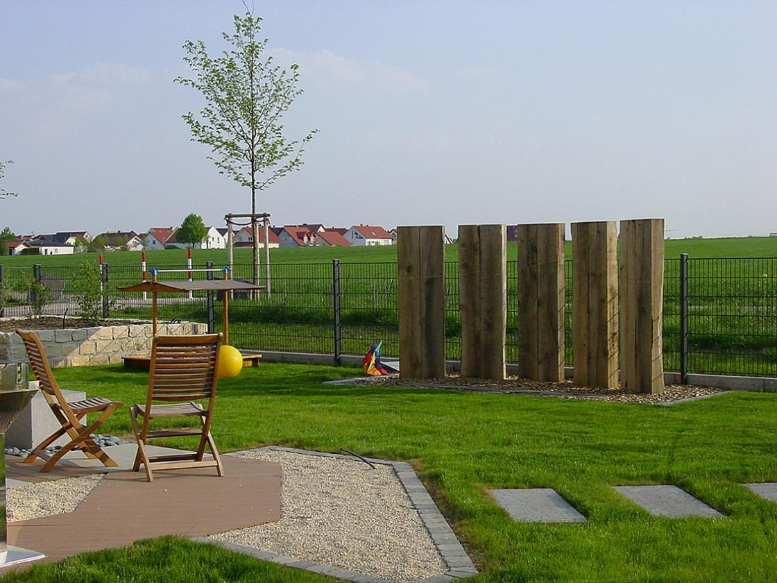 Privatgartenanlage in Friedberg - F. Landau Grünpflege GmbH